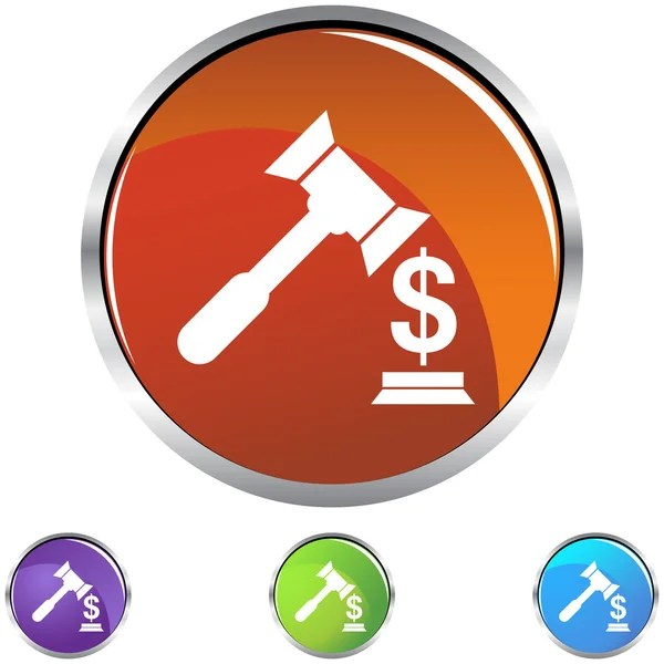 Lawsuit web icon — Stock Vector © cteconsulting #64143431