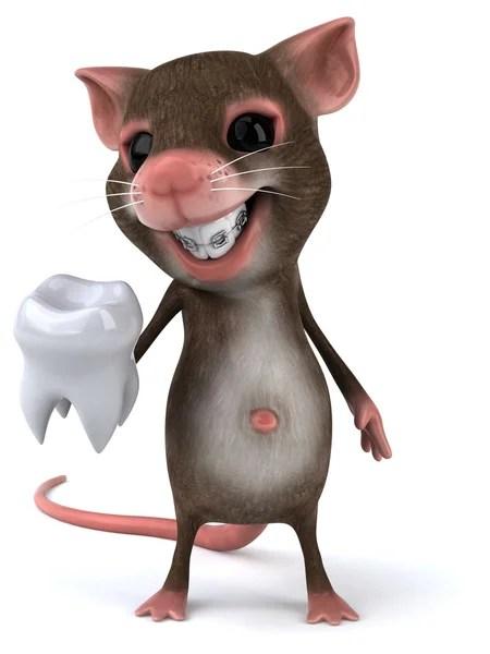 Gambar Tikus Animasi : gambar, tikus, animasi, Braces, Cartoon, Foto,, Gambar, Bebas, Royalti, Depositphotos®