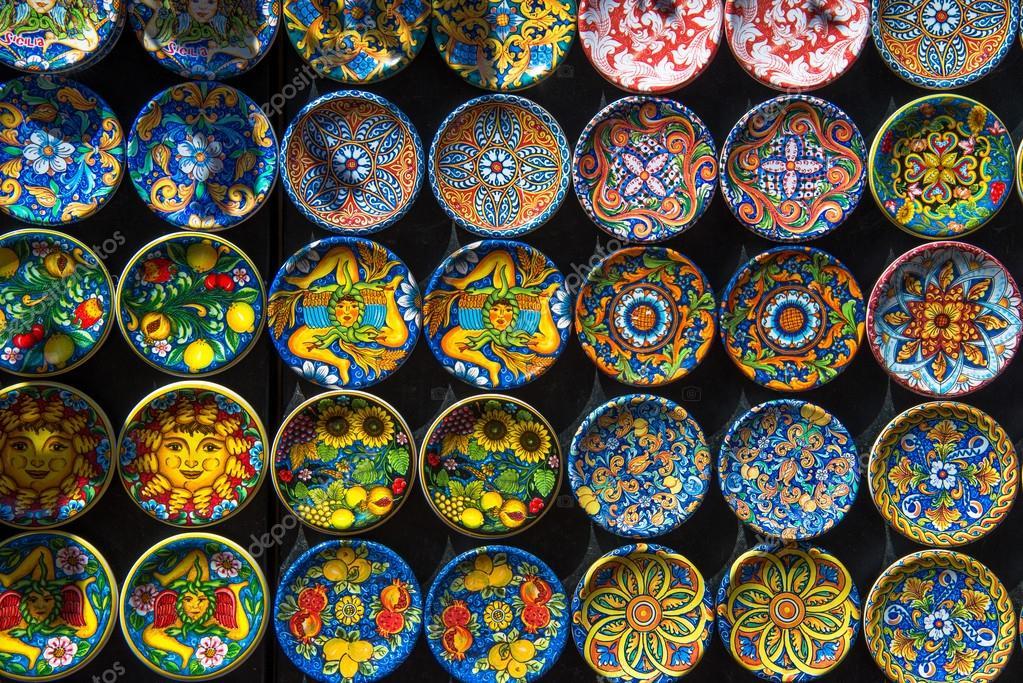 Piastrelle Artigianali Siciliane Ceramiche musa prestigio ed eleganza delle piastrella dal 1943 Handicraft sicily italy immagini  handicraft