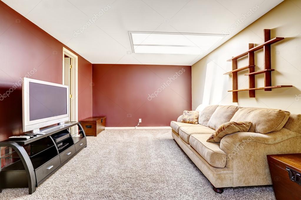 Paredes contraste colores  Living comedor con paredes de color de contraste  Foto de stock  iriana88w 54332615