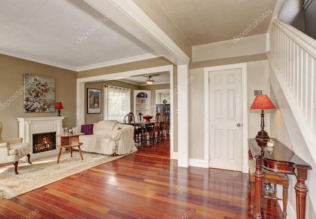 Fotos decoracion pisos de madera  Simplista living