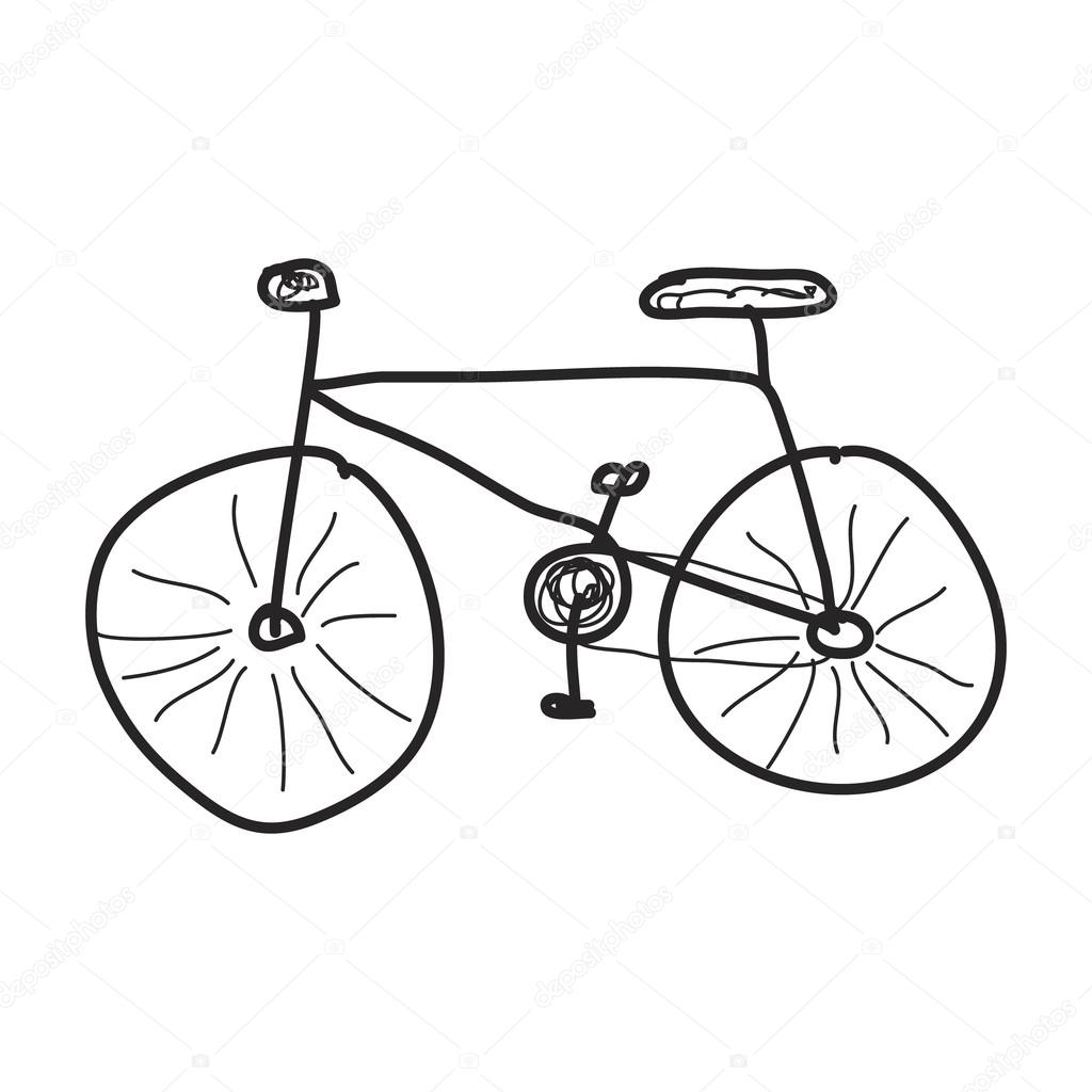 Drawing Easy Bikes How To Draw A Bike Step By Step How To Draw A