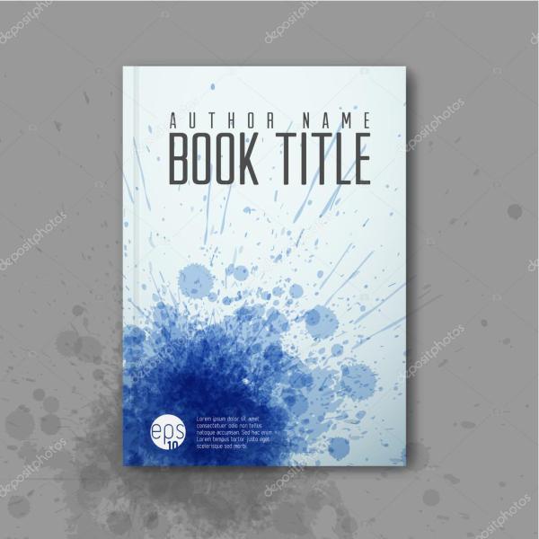 Abstract Book Cover Template Stock Vector Orson #60421801
