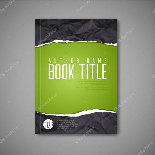 Abstract Book Cover Template Stock Vector #63823557