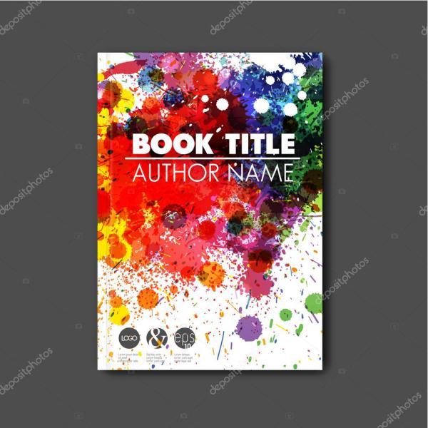 Modern Abstract Book Cover Template Stock Vector Orson