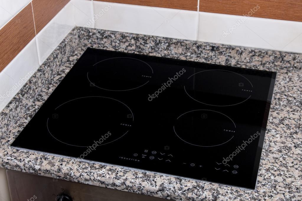 electric kitchen stove cart with wine rack 电动厨房用具感应陶瓷滚刀 图库照片 c membio 74063921