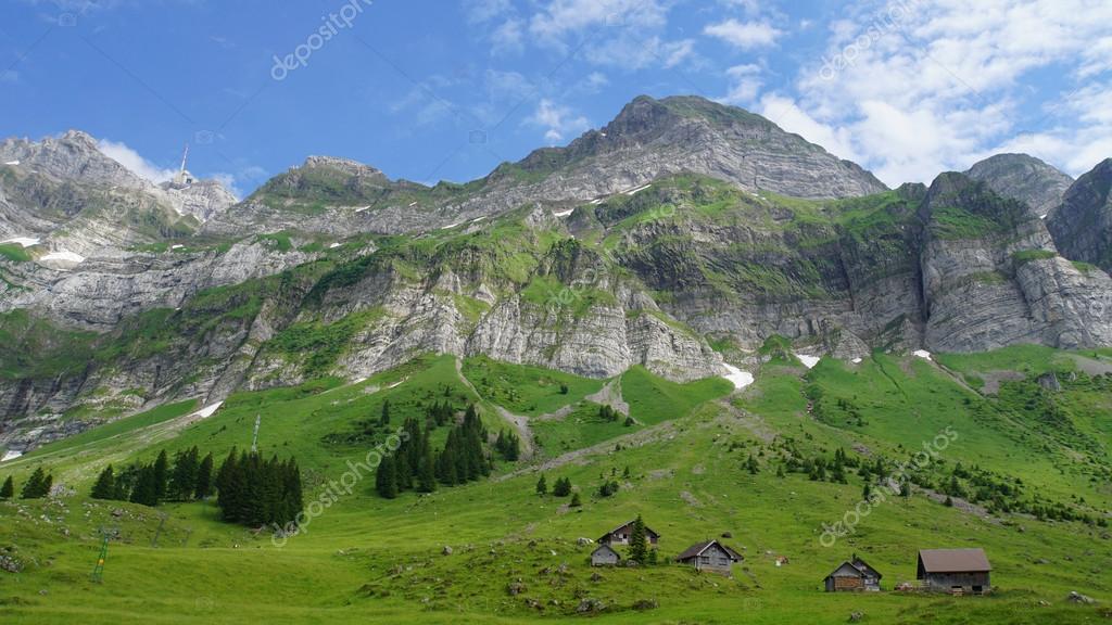 Paesaggio di montagna in Svizzera  Foto Stock  Edith60