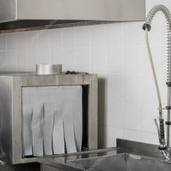 Kitchen Dishwashers Chair Pads 大型工业厨房洗碗机 图库照片 C Senkaya 101308962