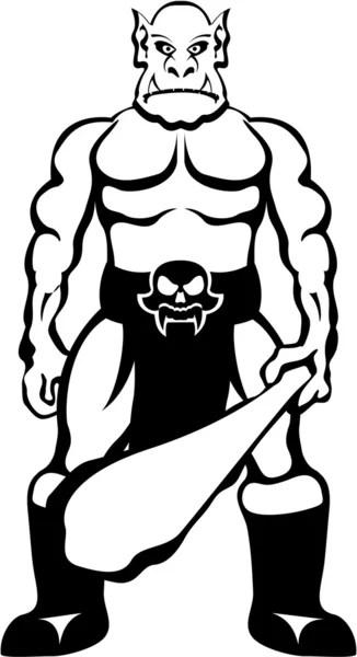 Troll kreslený Stock vektory, Royalty Free Troll kreslený