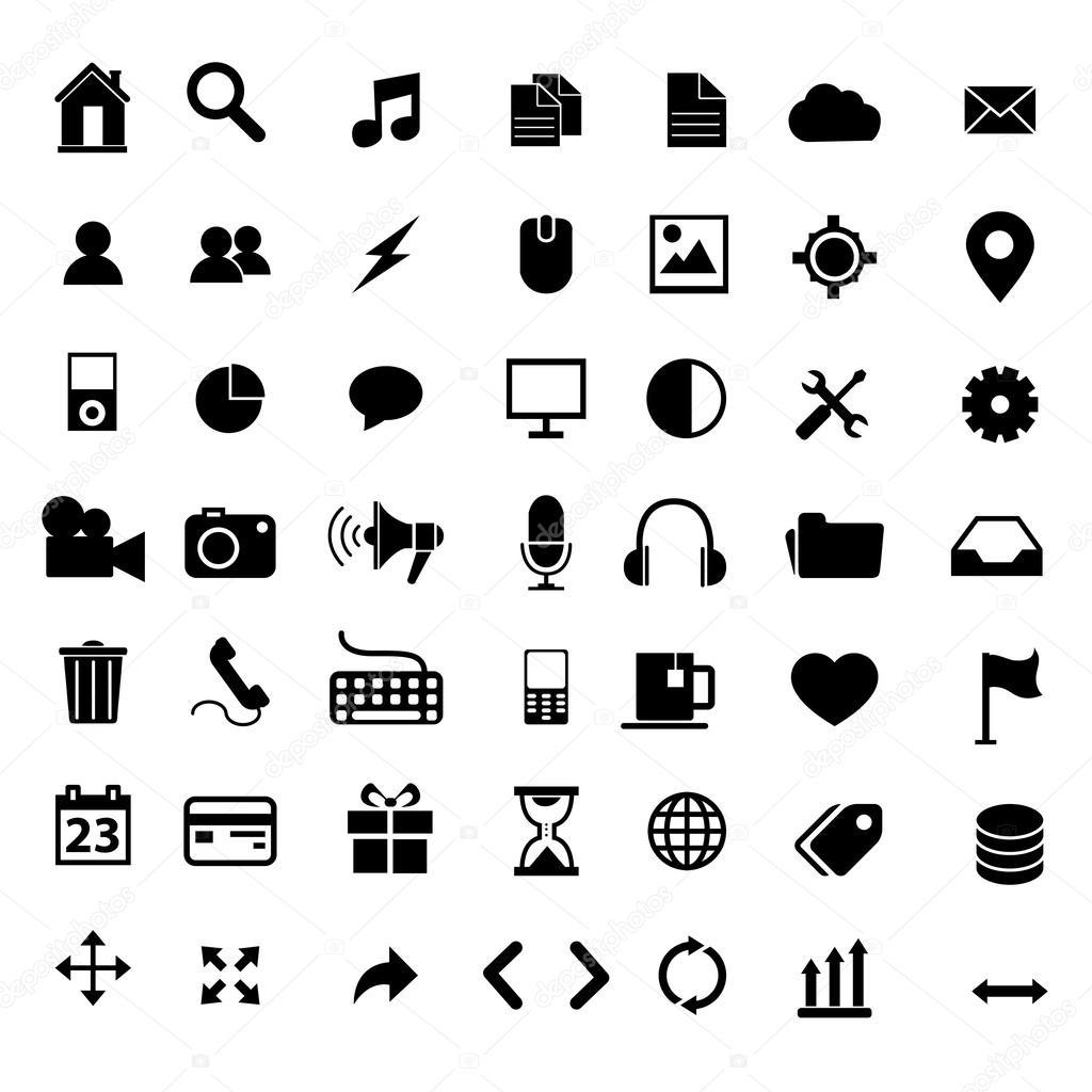Flat Icons Design Modern Set Of Various Financial Service