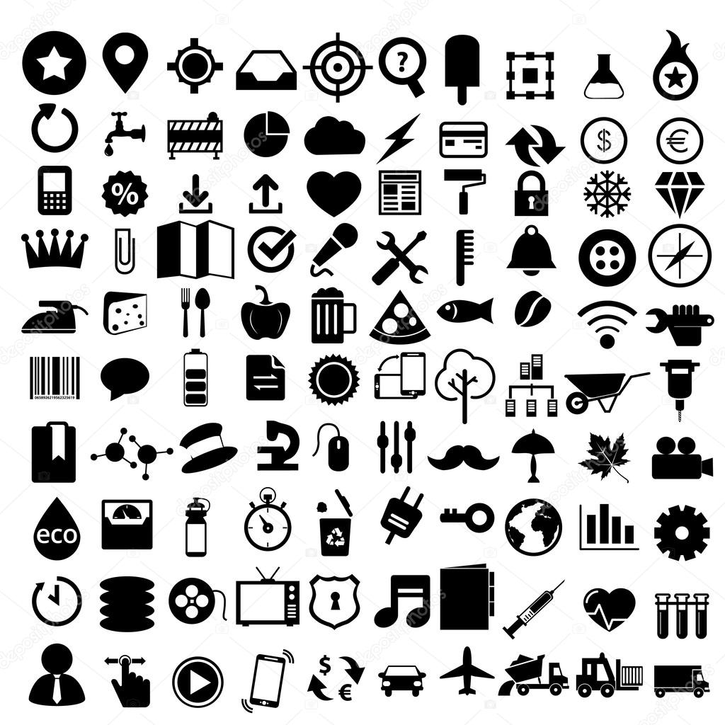 Flat Icons Design Modern Set Of Various Financial Service Items Web And Technology Development