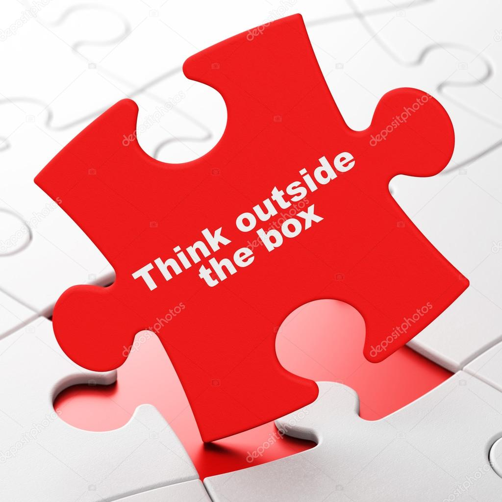 Learning Concept Think Outside The Box On Puzzle