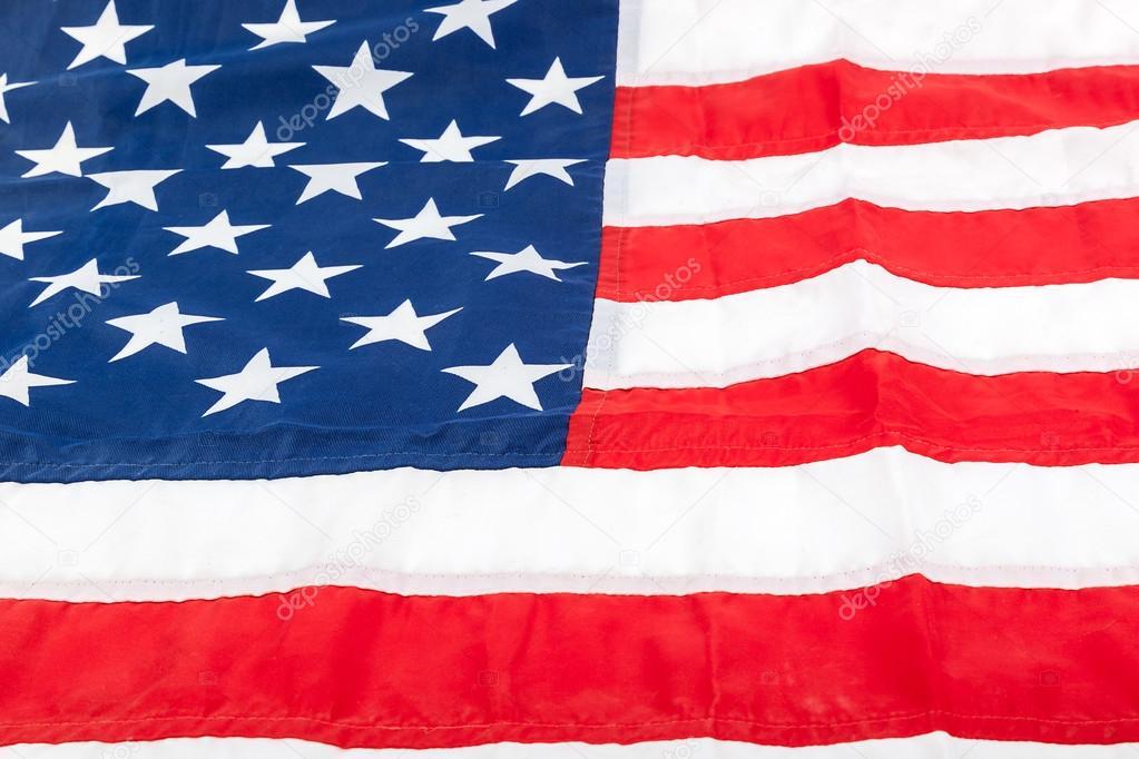 american flag as a