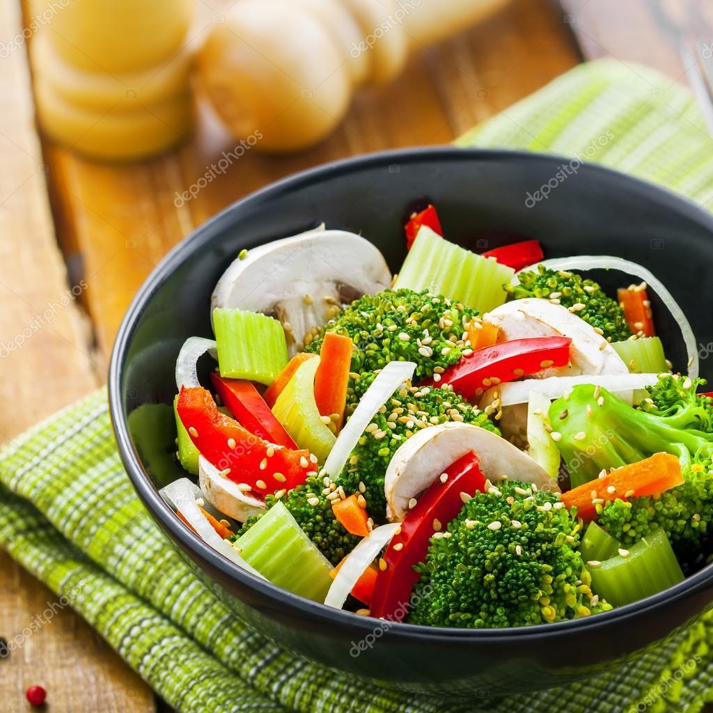 Fotos comida vegetariana  comida vegetariana saludable