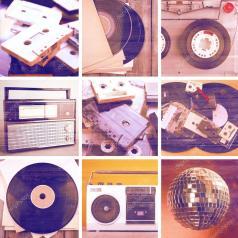 Risultati immagini per dischi e radio