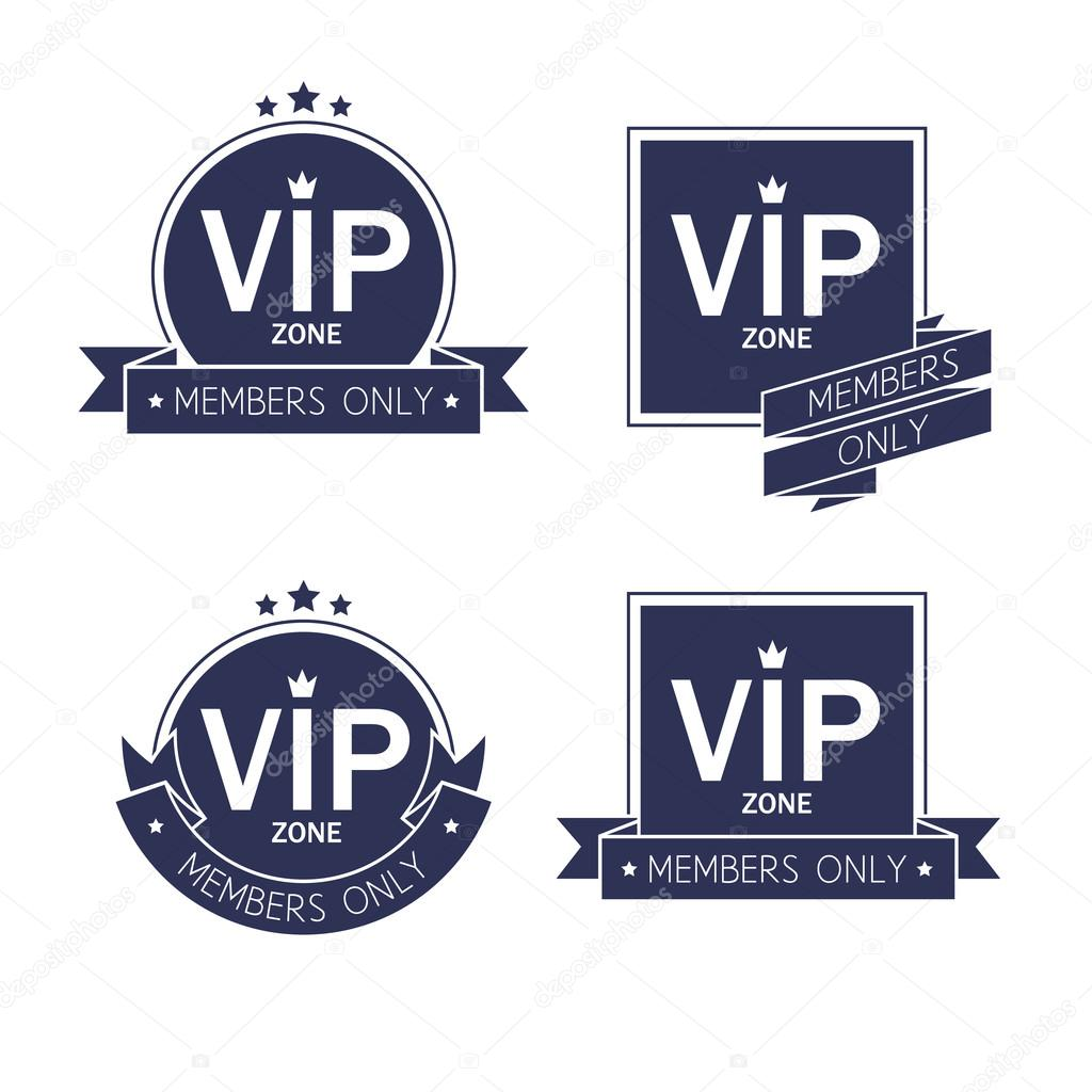 different vip badges labesl