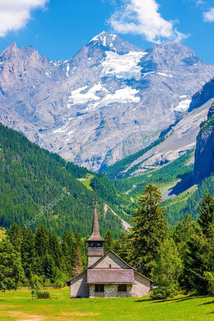 Paesaggio di montagna Svizzera  Foto Stock  welcomia