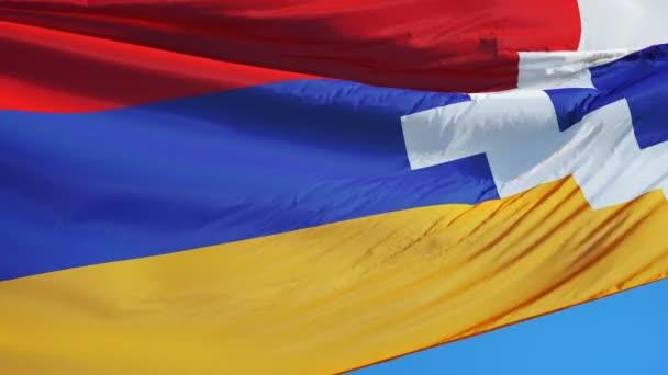 nagorno karabakh flag in