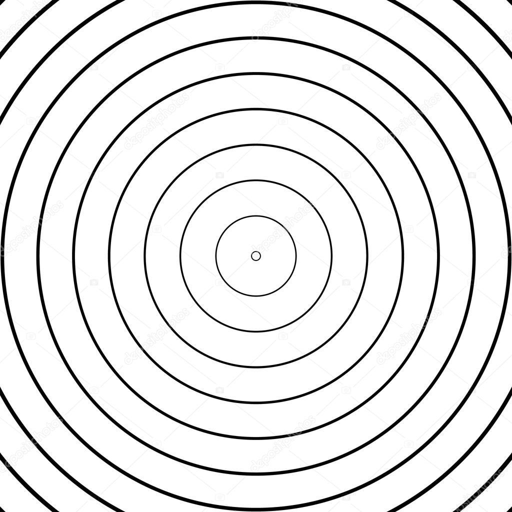 Patron De Circulos Concentricos