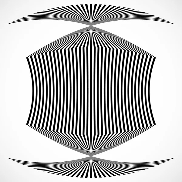 abstract vertical distortion lines — Stock Vector