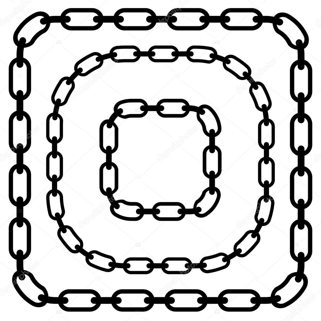 chains links set stock