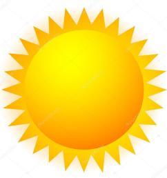 sun clip art sign stock vector [ 1016 x 1023 Pixel ]
