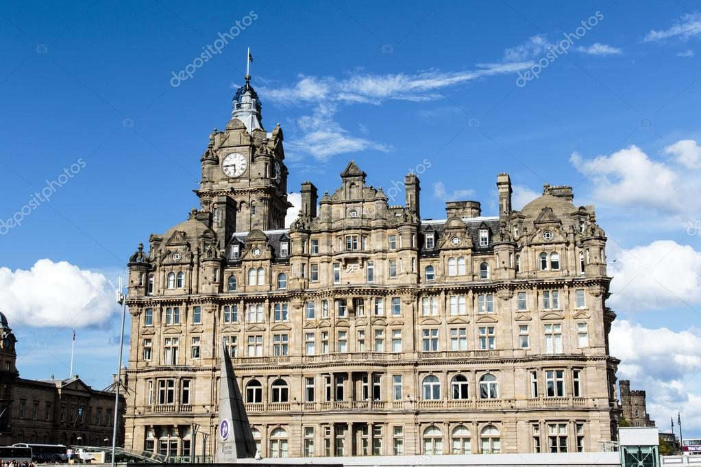 Facade Of The Balmoral Hotel A Five Star Luxury Hotel Next