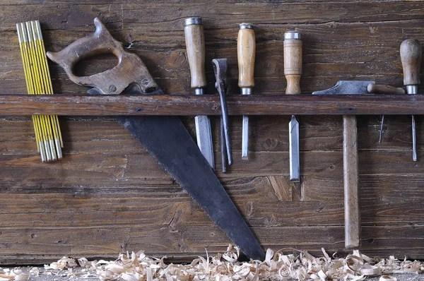 古代的木匠工具 — 圖庫照片©worklater#27167043