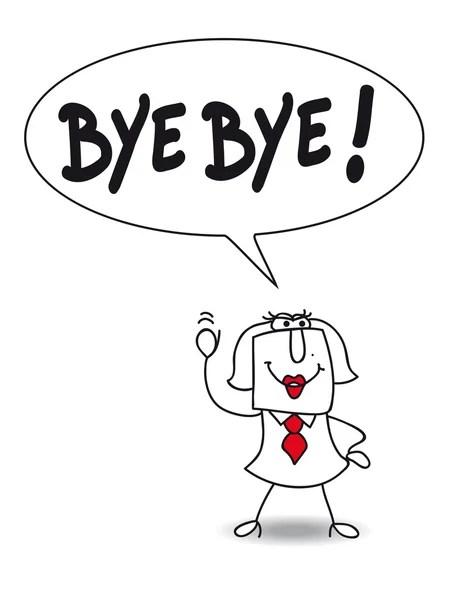 Goodbye cartoon Stock Vectors, Royalty Free Goodbye