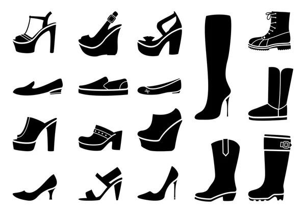 Man Male Men Shoes Footwear — Stock Vector © leremy #6184293
