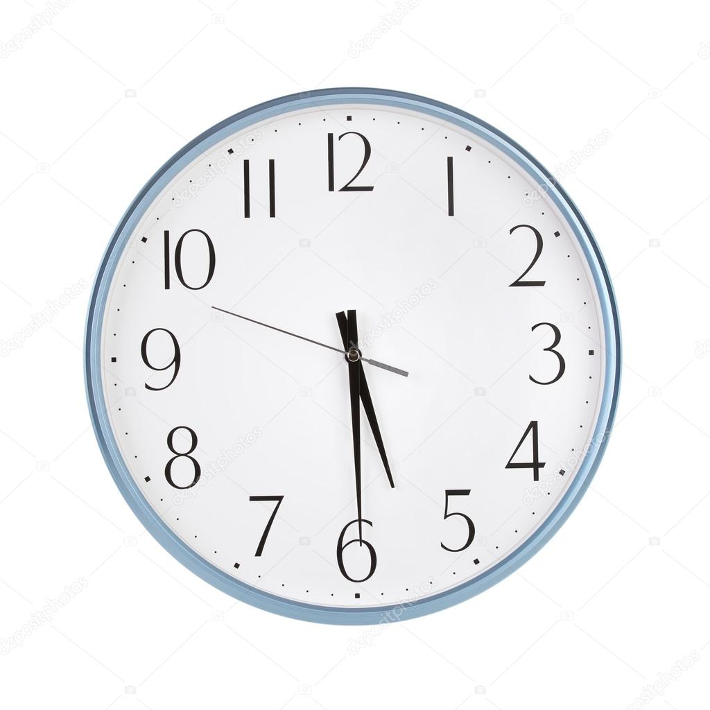 Half Past Five O Clock