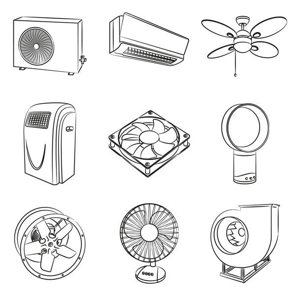 ᐈ Ventilation fan stock vectors, Royalty Free ventilation