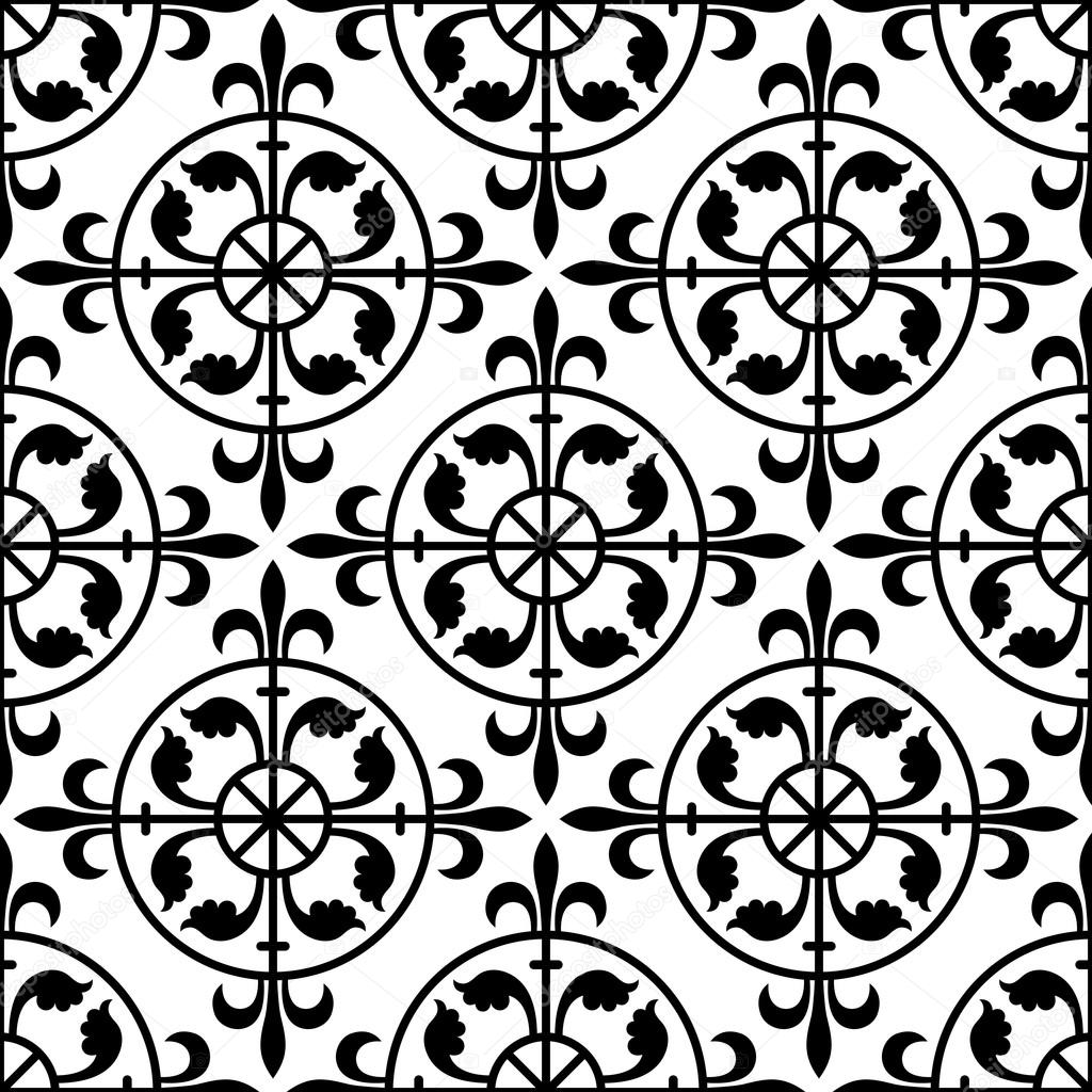 Gothic seamless pattern. — Stock Vector © lookus #76371379
