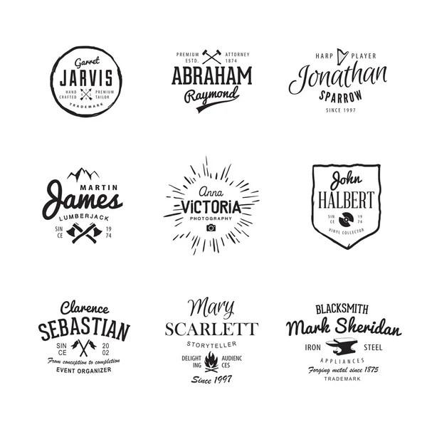 Set van pictogrammen op een thema van de schoolvakken