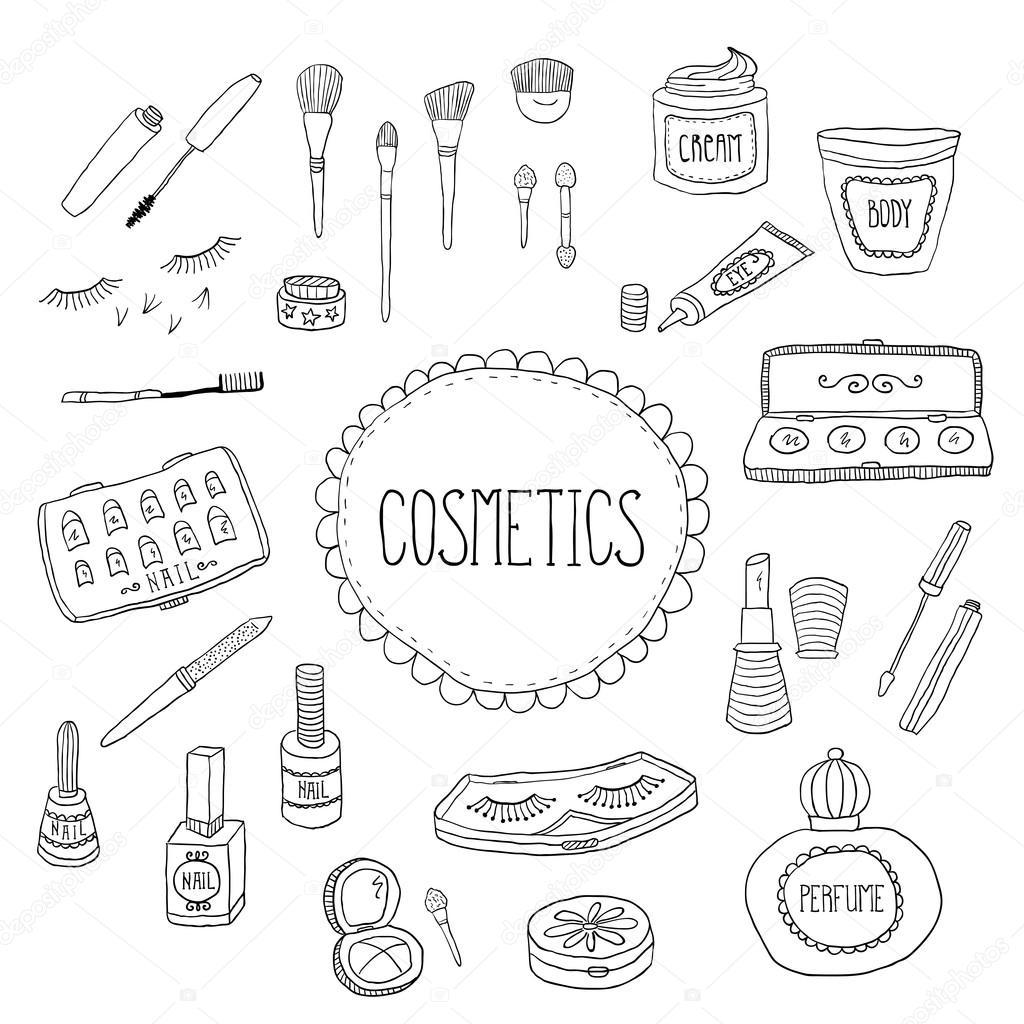 Doodles Makeup Icons