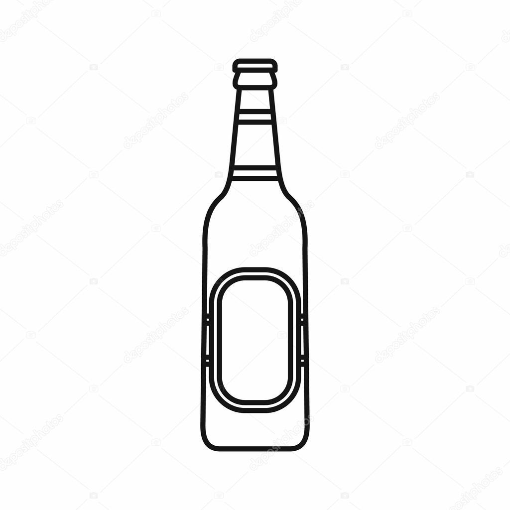 Botella Cerveza Icono