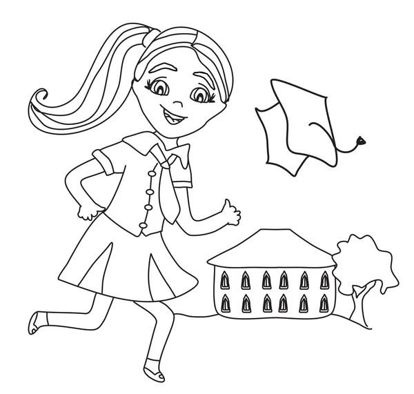 Kindergarten graduation Stock Vectors, Royalty Free