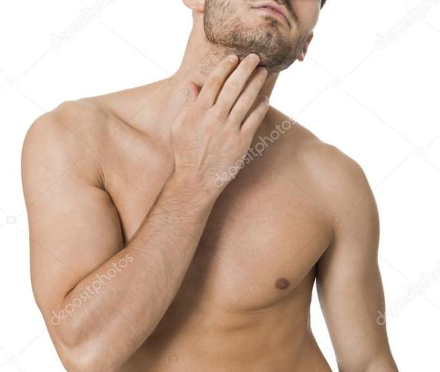 Handsome Naked Young Man Stock Photo