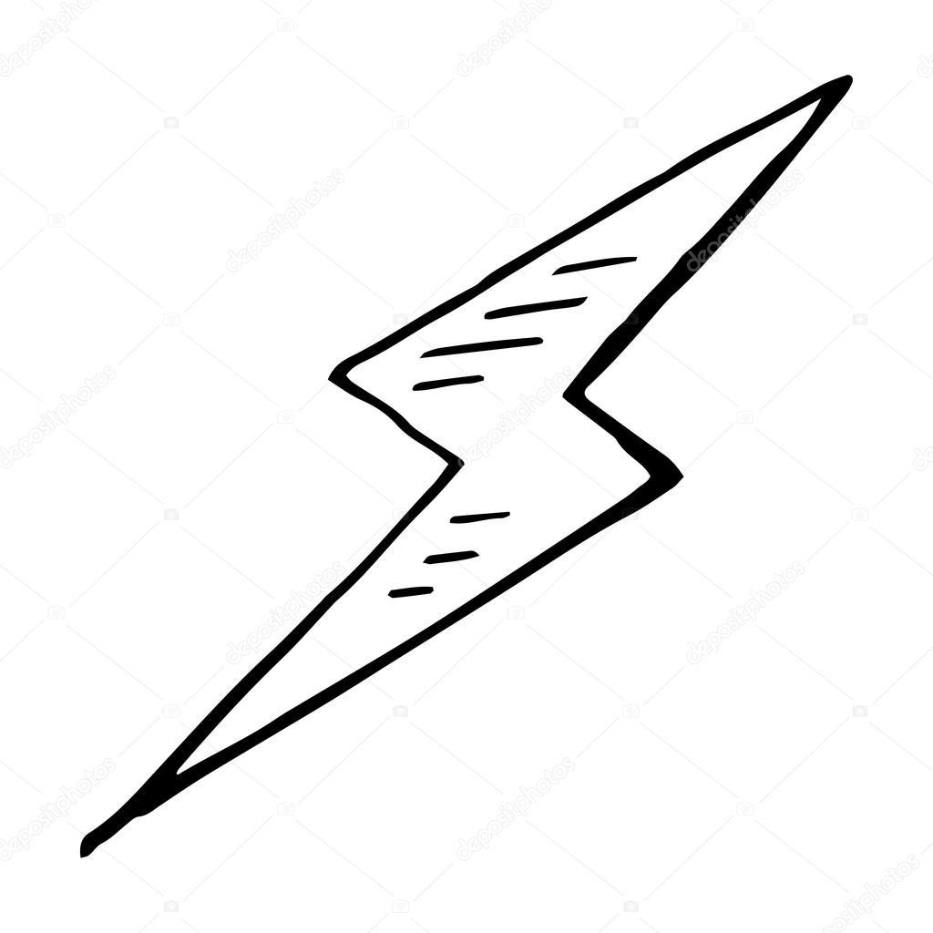 Lightning Bolt Doodle