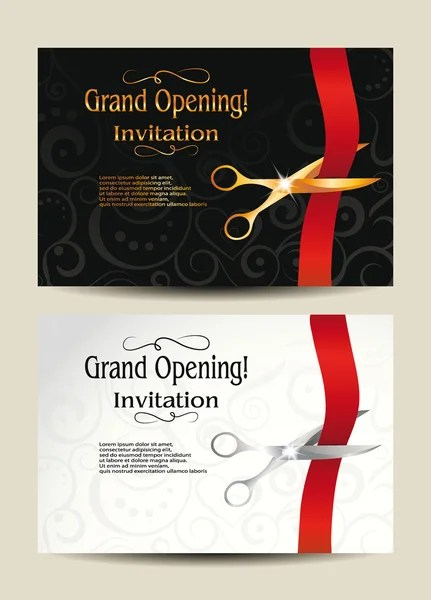 3 574 grand opening card vector images