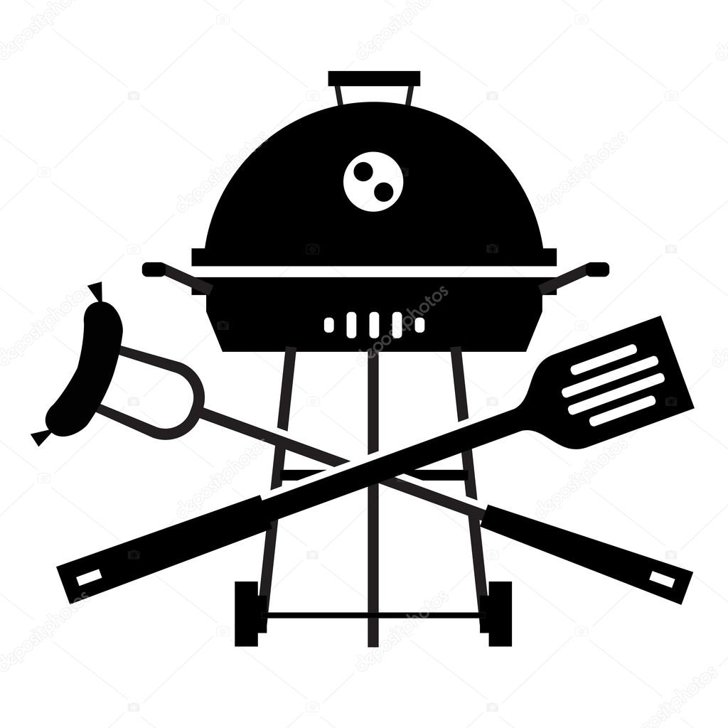 Bbq Vector Logo Design Template Grill Or Cooking Icon