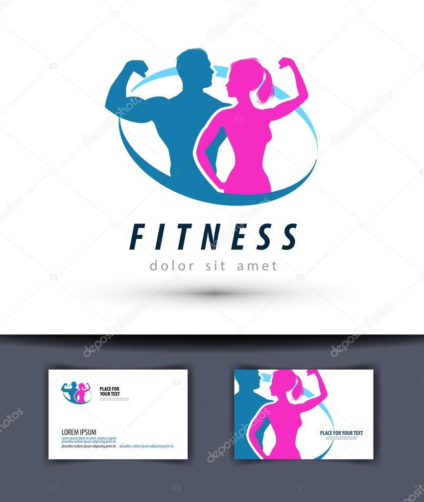 Fitness Vector Logo Design Template Gym Or Sport Icon Stock Vector C Sergeypykhonin 85572574
