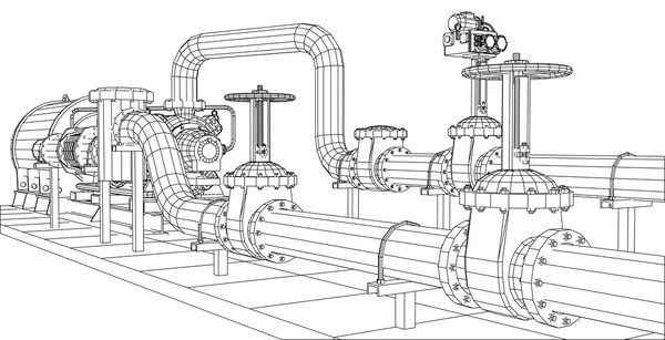 Chemical plant Stock Vectors, Royalty Free Chemical plant