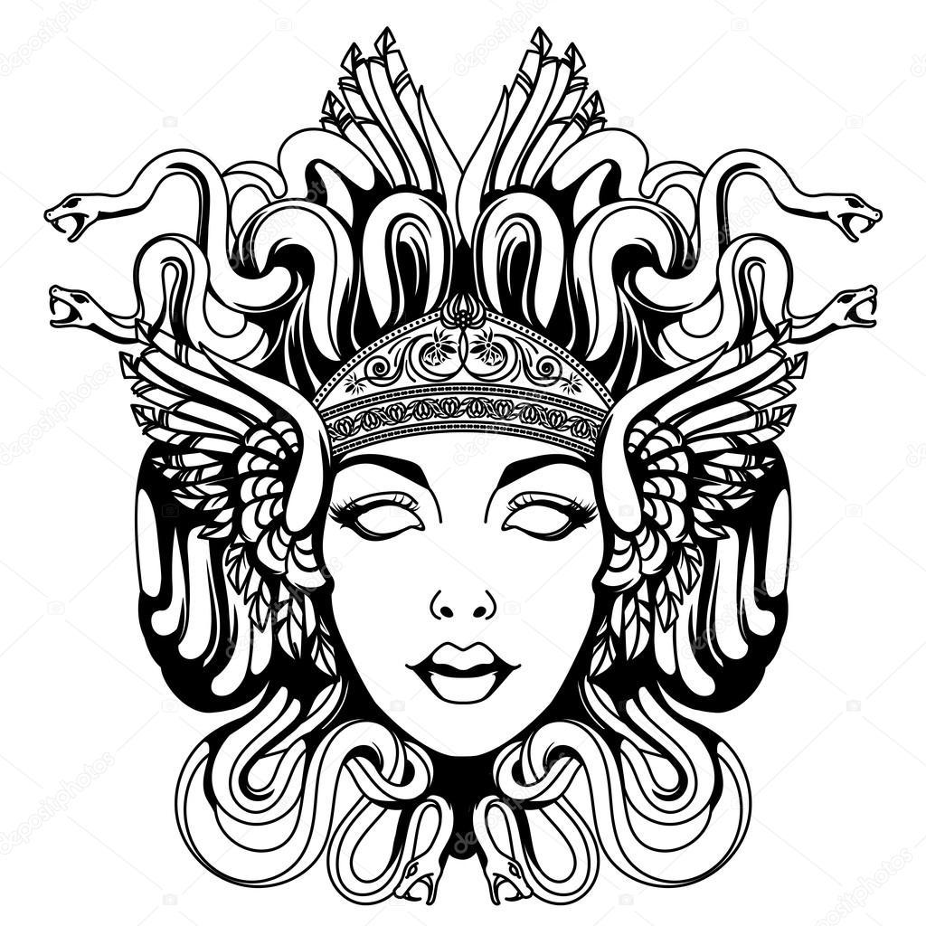 Ritratto Di Medusa Gorgone