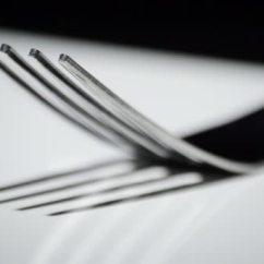 Kitchen Fork Toys Set 叉 厨房餐具 在白底上旋转 图库视频影像 C Ianm36 115728246