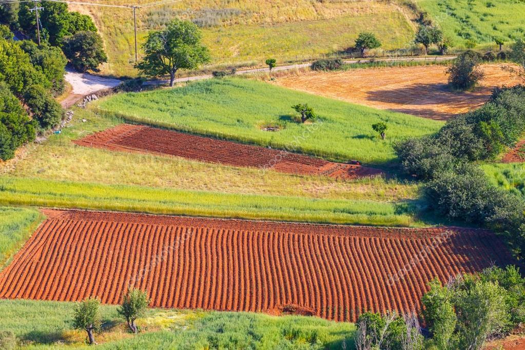 Paesaggio rurale dellisola di Creta in Grecia  Foto Stock  wujekspeed 117477830