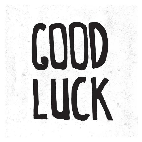 Goodbye and Good luck. — Stock Vector © alexgorka #95362756