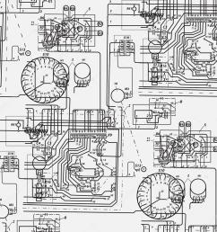 abstract seamless pattern on the theme of science and electrical engineering black fantastic wiring diagram on a white background vector illustration  [ 1024 x 1024 Pixel ]