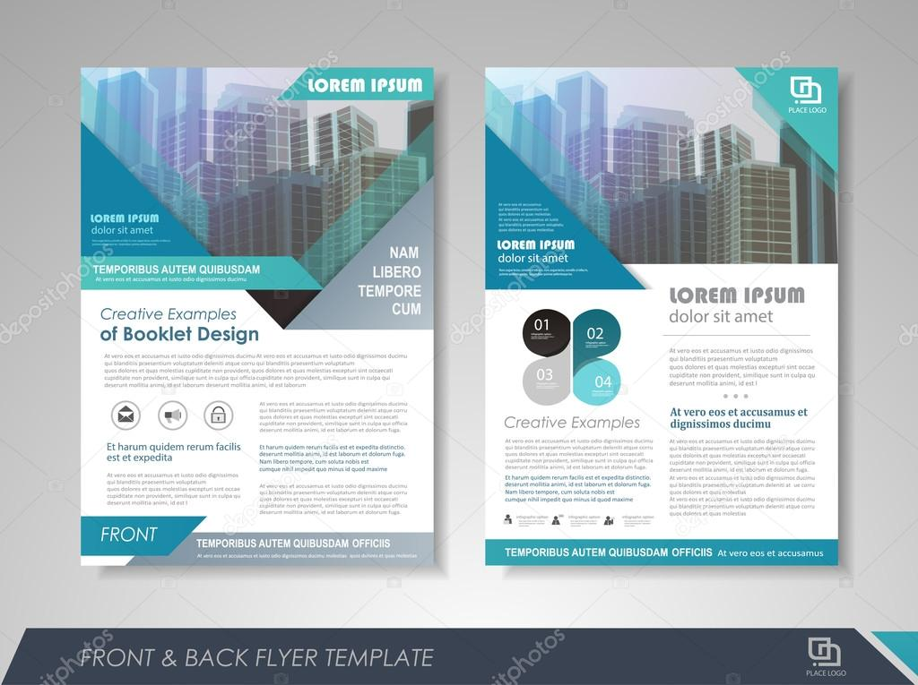 Business Brochure Design Template — Stock Vector © Stekloduv #119370184