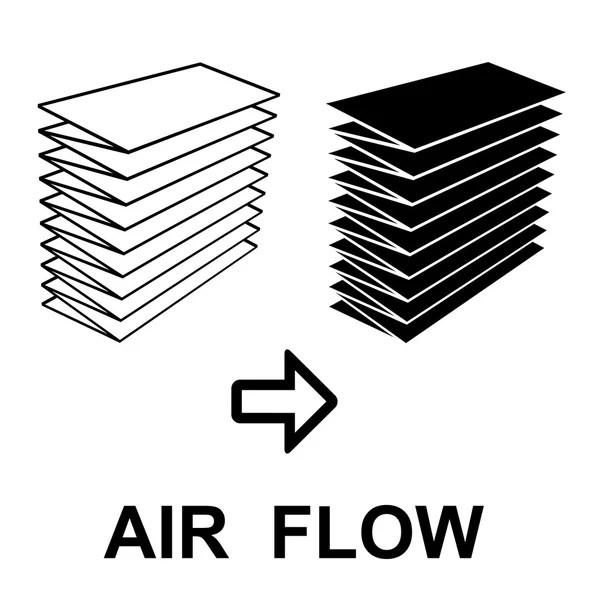 Air filter effect symbol — Stock Vector © happyroman #52452573